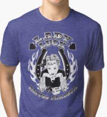 Lady Luck Tattoo Parlour Tri-blend T-Shirt