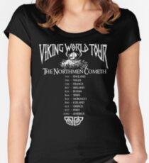 Viking World Tour Women's Fitted Scoop T-Shirt