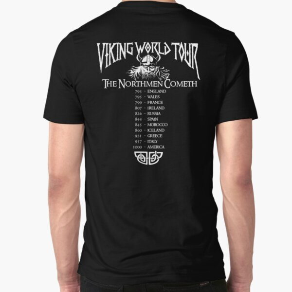 Viking World Tour Slim Fit T-Shirt