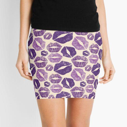 Besos morados Minifalda