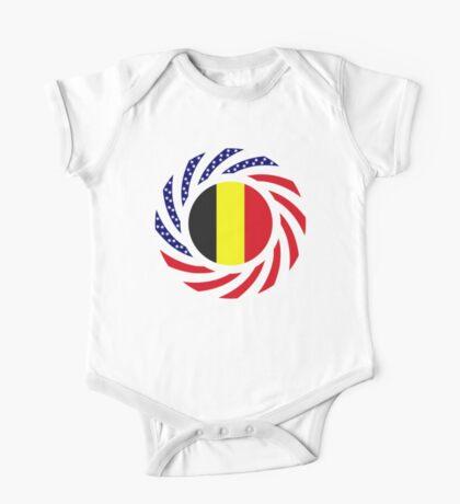 Belgian American Multinational Patriot Flag Series Kids Clothes