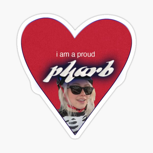 proud pharb phoebe bridgers  Sticker