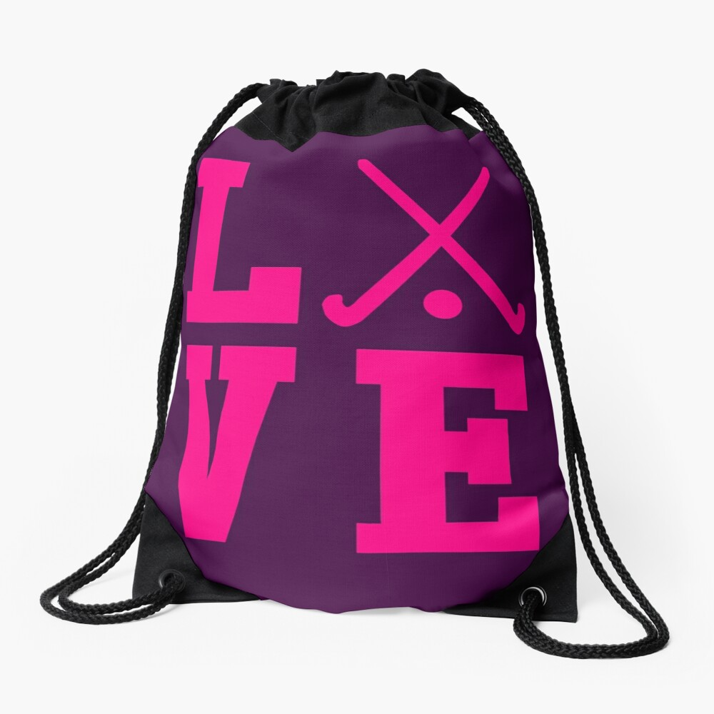 Love Field Hockey Mochila saco