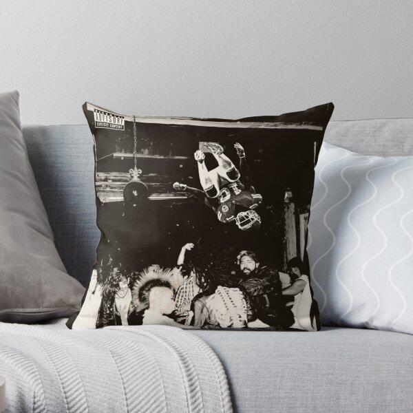 KANSAS CITY FOOTBALL FLIP CONCERT Throw Pillow