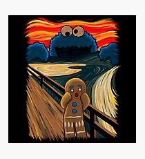 The Cookie Muncher  Photographic Print