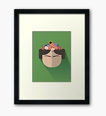 Princess Leia Kahlo Framed Print