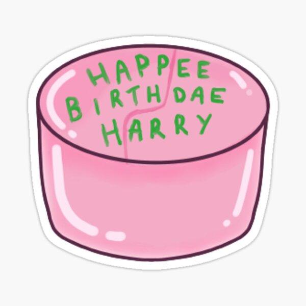 Happee birthdae Harry sticker Sticker