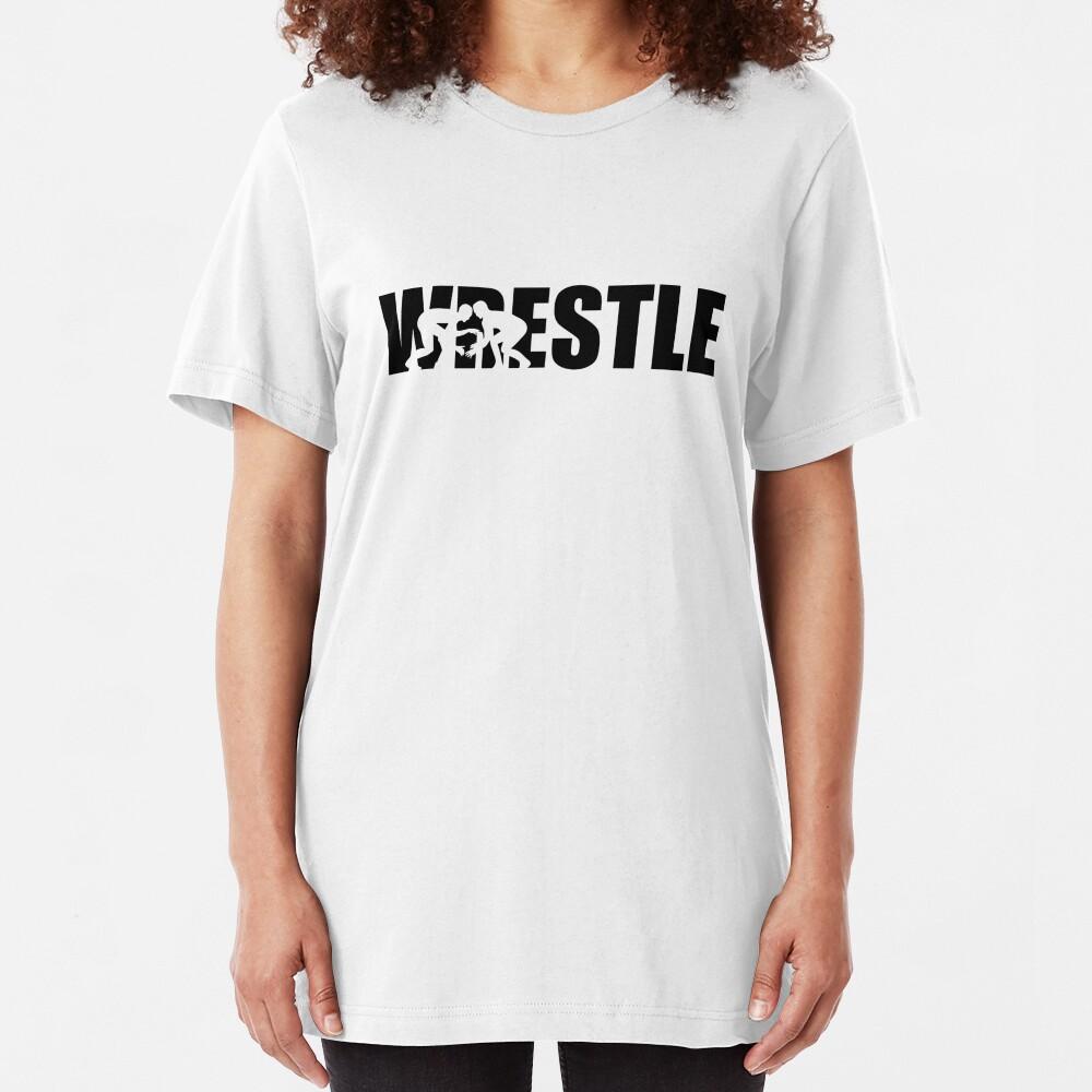 Wrestle Camiseta ajustada
