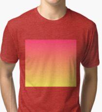 Peachy Gradient  Tri-blend T-Shirt