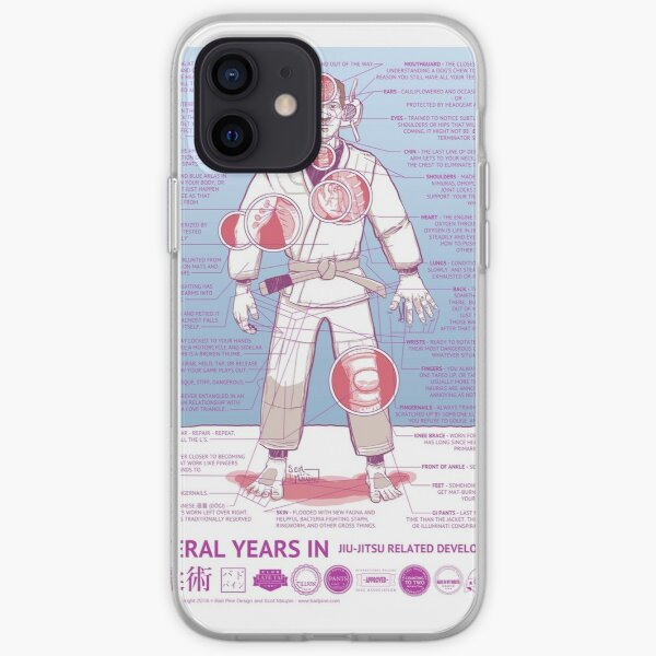 BJJ - Several Years In - Blue iPhone Soft Case