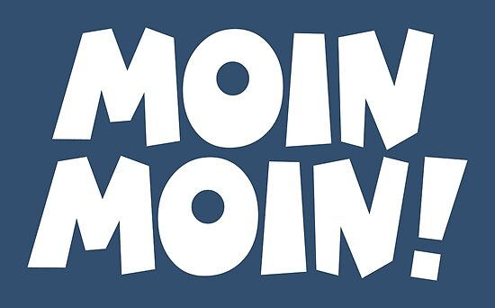 Moin Moin Guten Morgen Gruß Poster By Theshirtshops