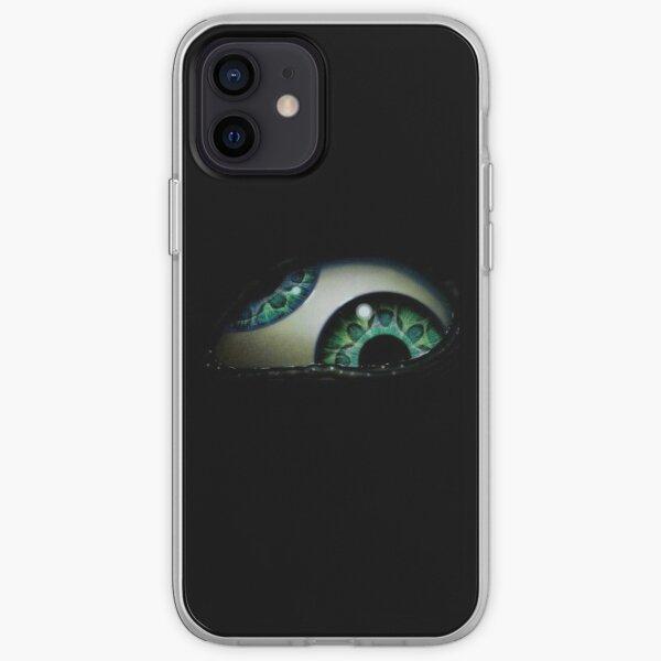 logo de ojo Funda blanda para iPhone