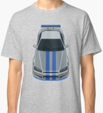 The Gray and Blue Classic T-Shirt