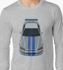 The Gray and Blue T-Shirt