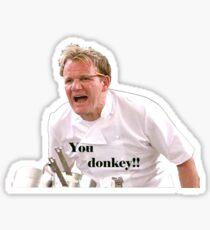 You Donkey! Sticker