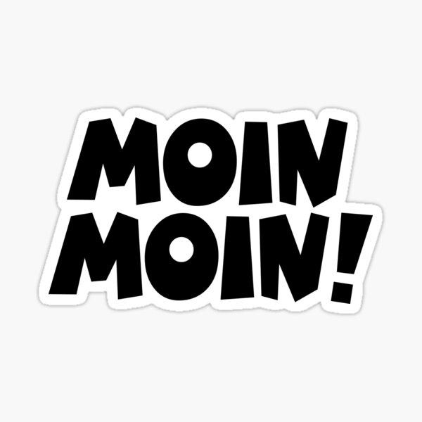 Moin Moin! Guten Morgen Gruß Sticker
