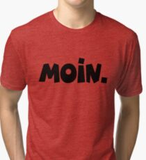 Moin - Guten Morgen Gruß Vintage T-Shirt