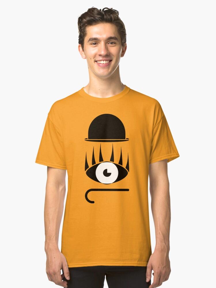 Clockwork Orange Symbols Classic T Shirt By Enjoyriot Redbubble