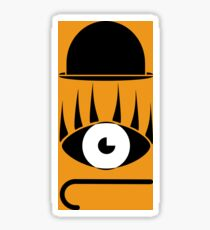 Clockwork orange symbols Sticker
