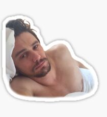 Sleepy James Sticker