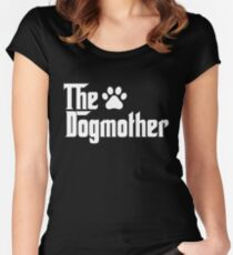 The Dogmother Women's Fitted Scoop T-Shirt