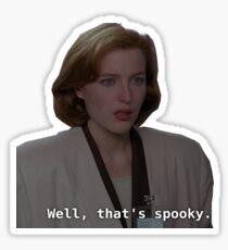Spooks Sticker