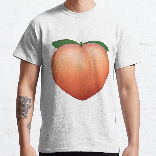Peach Emoji Classic T-Shirt