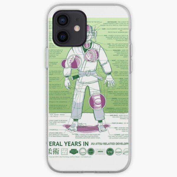 BJJ - Several Years In - Green iPhone Soft Case