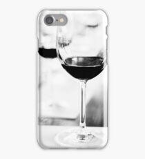 wine glasses, at wine tasting iPhone Case/Skin