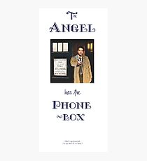 Castiel Has The Phonebox Photographic Print