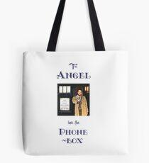 Castiel Has The Phonebox Tote Bag