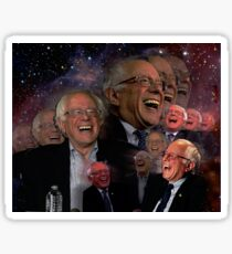 Space Bernie Sticker