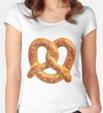 Pretzel  Women's Fitted Scoop T-Shirt