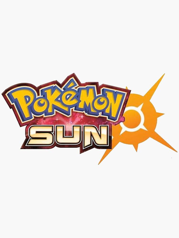 Pokemon Sun Logo by OldSkooRebel