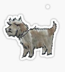 Muddy Dog Sticker