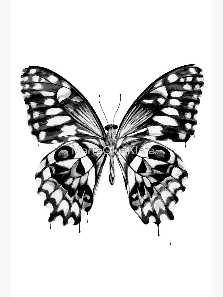 Black butterfly by MartaOlgaKlara