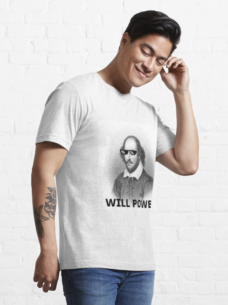Alternate view of Willy Shakes Essential T-Shirt