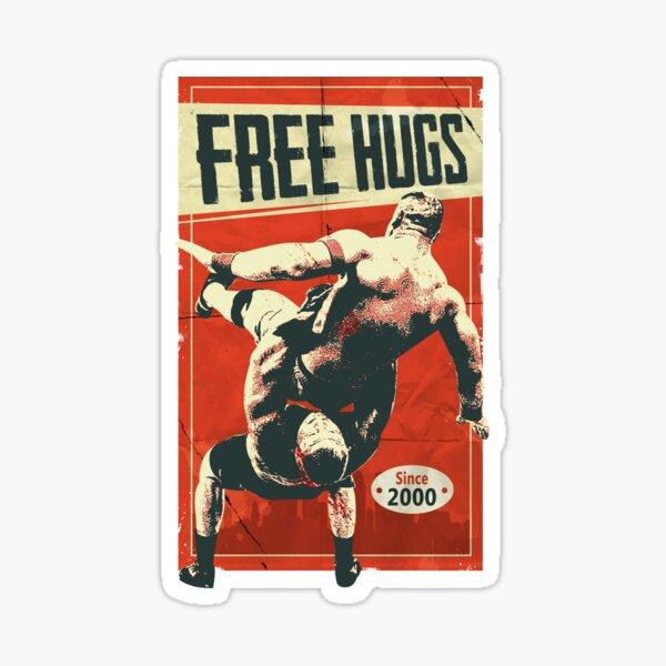 Free Hugs Lesnar Sticker