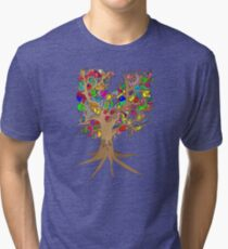 Birds of a feather stick together Tri-blend T-Shirt