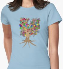 Birds of a feather stick together Women's Fitted T-Shirt