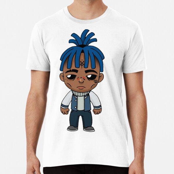 xxxtentation draw cartoon rip T-shirt premium