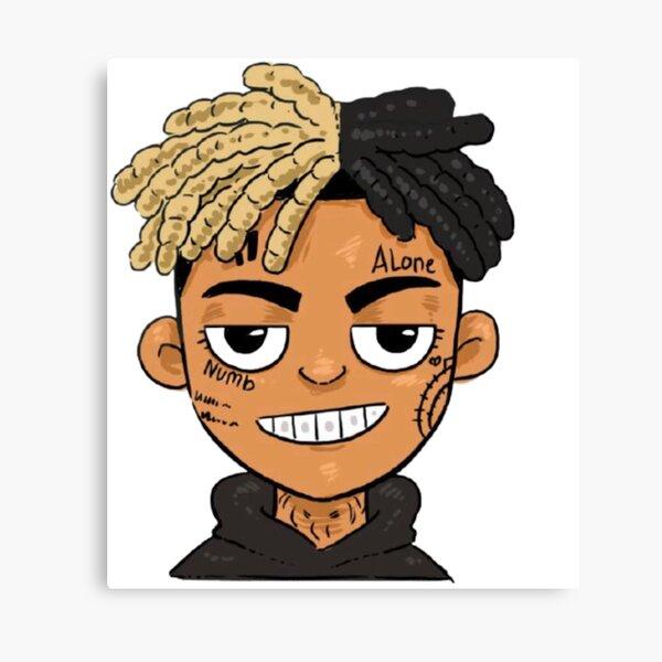 xxxtentation lengends emo rap dessiner dessin animé Impression sur toile