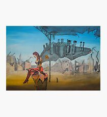 Machine Gun Fairy Photographic Print