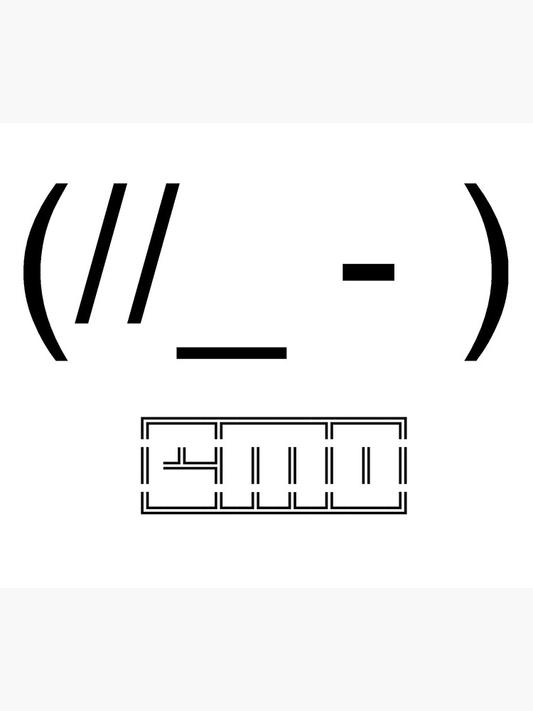 Super Emo Ascii Greeting Card By Enj0Ym3Nt Redbubble Funny Birthday Cards Online Alyptdamsfinfo