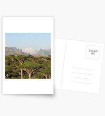 SOCOTRA, YEMEN Postcards