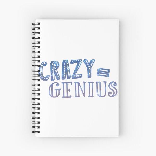 Crazy entspricht Genie Spiralblock