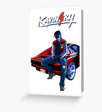 Kavinsky Greeting Card