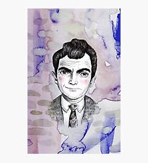 Sci-Fi boyfriend Rod Serling Photographic Print