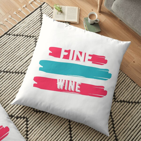 FINE WINE Floor Pillow