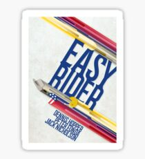 Easy Rider Movie Poster Sticker